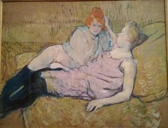 ロートレックの絵画に見る、娼婦に恋する男性心理の射手座性